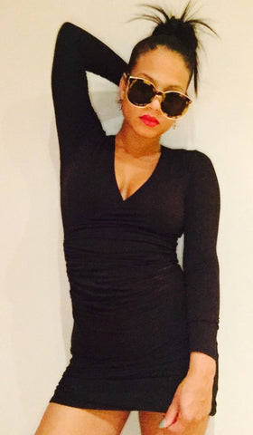 Christina Milian in the Forever Wrap Dress
