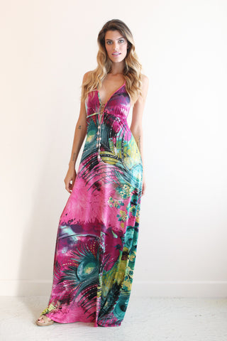 Extra Long Maxi Dresses Nicole Andrews Collection