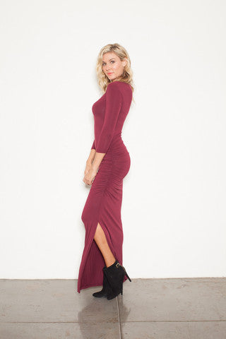 Long Sleeved Maxi Dresses