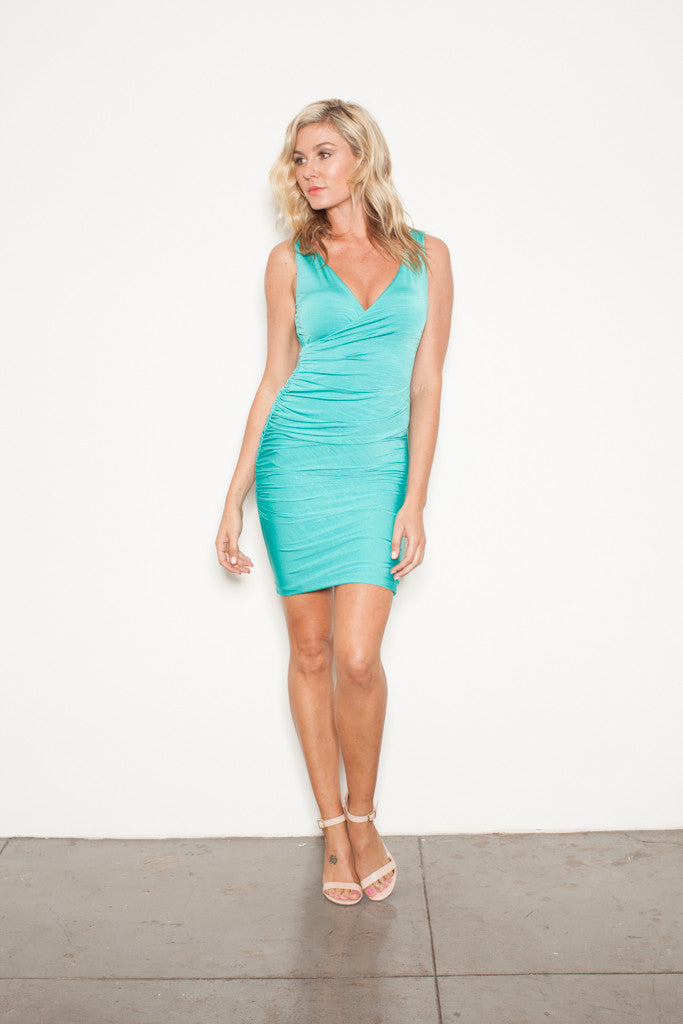THE SLEEVELESS WRAP MINT