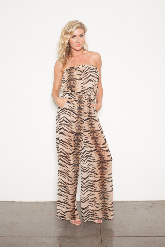 FOREVER JUMPSUIT TIGER