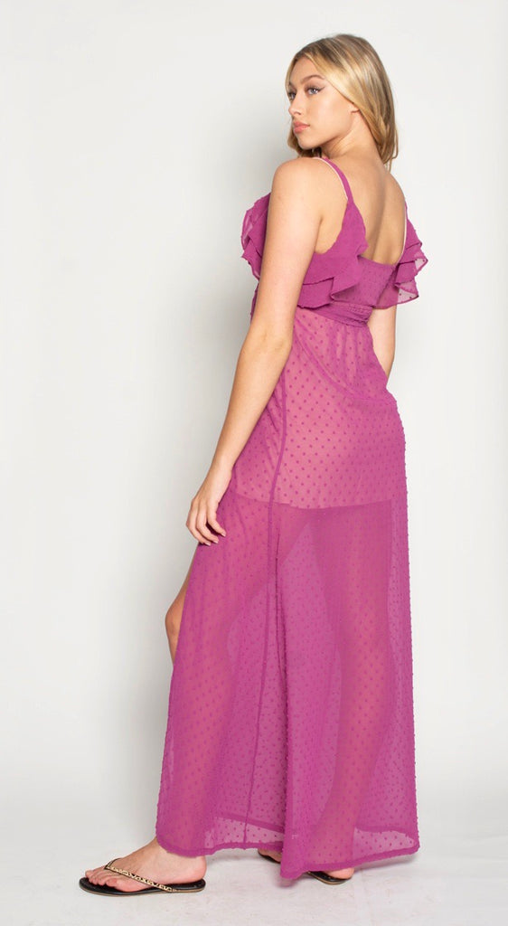 THE LAGUNA MAXI - FUSCHIA