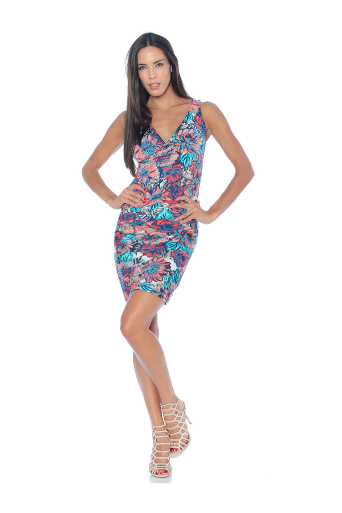 THE SLEEVELESS WRAP TROPICANA