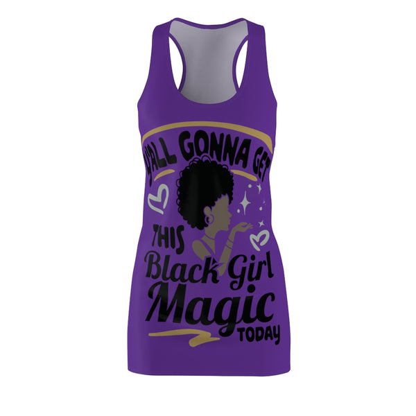 Black Girl Magic Racerback Dress