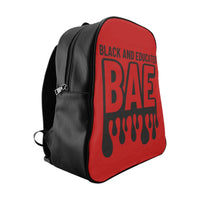 BAE Red School Backpack