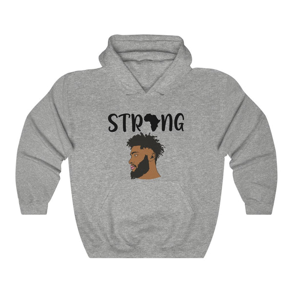 STRONG KING Hooded Sweatshirt