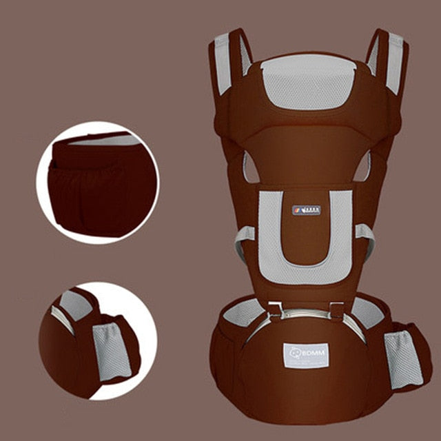 Ergonomic Hipseat Travel Carrier