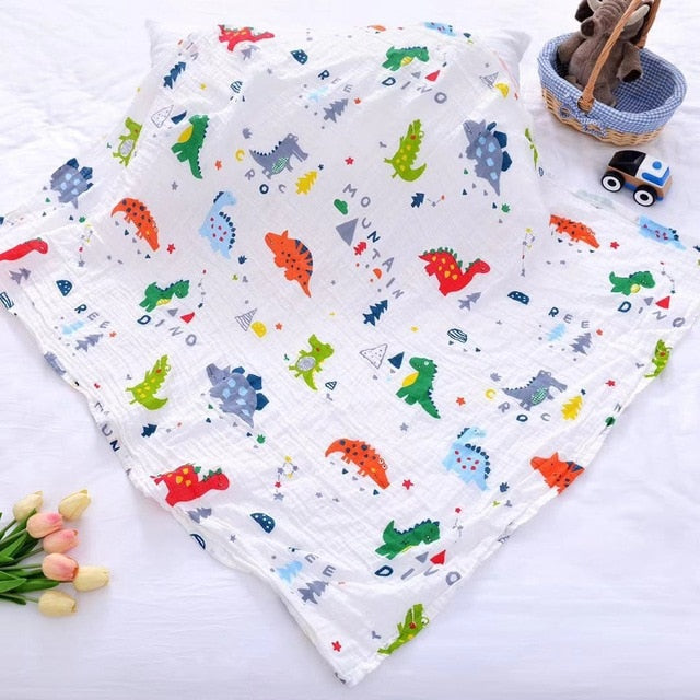Big 120cm*110cm Swaddle Blanket