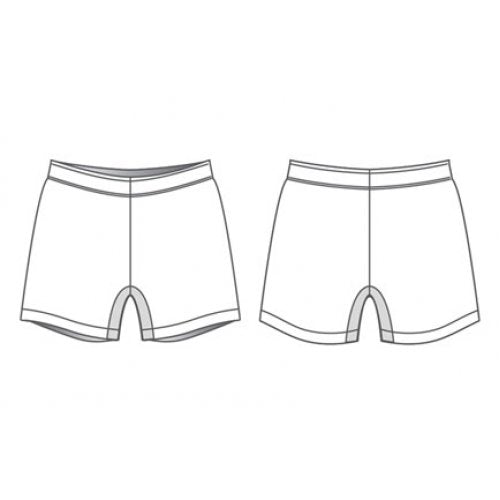 Haka Rugby Shorts wAnti-Slip Waistband - Womens