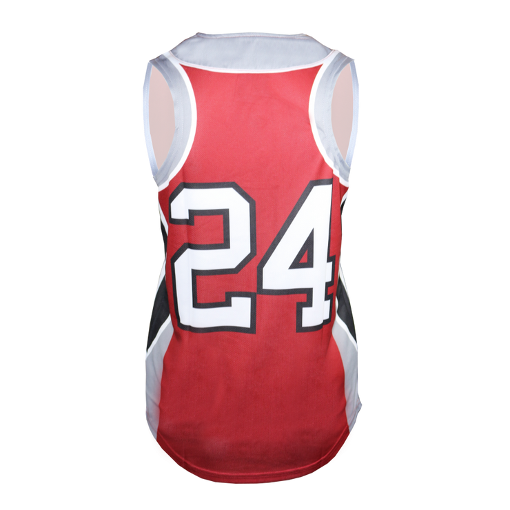 Ace 2-Button Sleeveless Softball Jersey