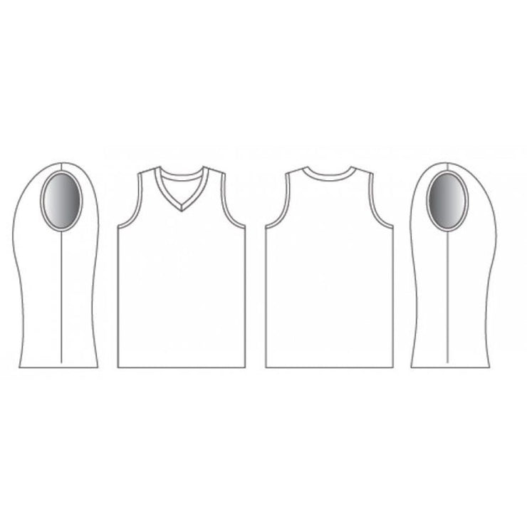 Zone- V-Neck Jersey - Mens