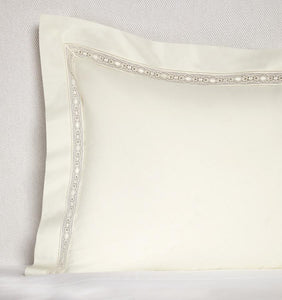 Continental Sham 26X26 - Giza Lace Collection - By Sferra