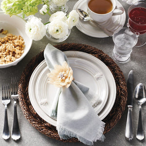Kensington Bright Satin Place Spoon - By Juliska