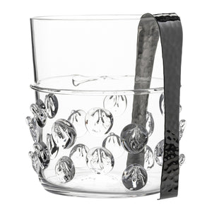 Florence Ice Bucket with Tongs - By Juliska