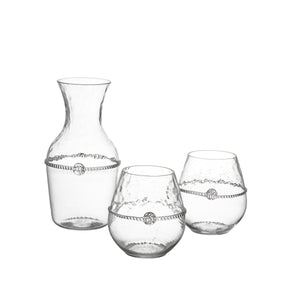 Graham Carafe + 2 Stemless Red Wine Gift Set - By Juliska