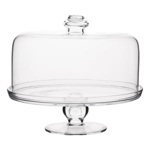 Berry & Thread Glassware Cake Dome - By Juliska