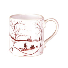 Load image into Gallery viewer, Country Estate Winter Frolic Ruby Mug - By Juliska