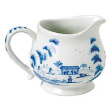 Load image into Gallery viewer, Country Estate Delft Blue Creamer Main House - By Juliska