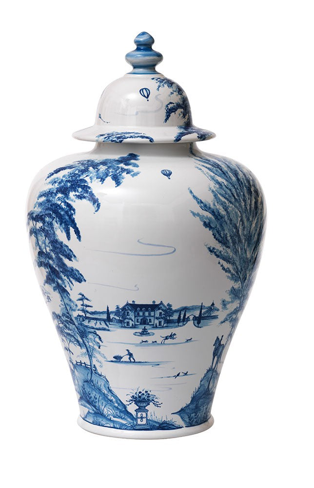 Country Estate Delft Blue 17