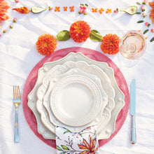Load image into Gallery viewer, Jardins du Monde Whitewash Dinner Plate - By Juliska