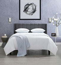 Load image into Gallery viewer, Twin Flat Sheet 74X114 - Corto Celeste  Collection - By Sferra