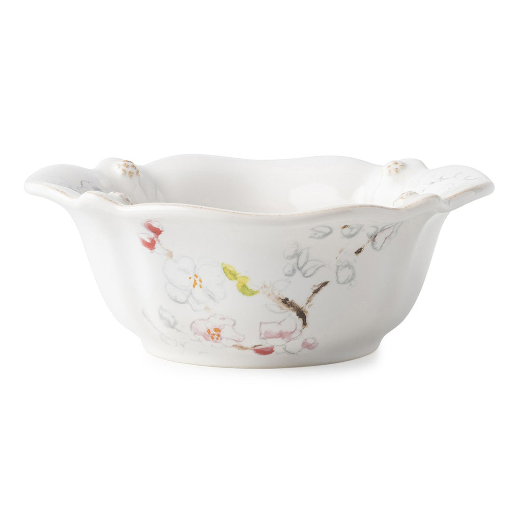 Berry & Thread Floral Sketch Cherry Blossom Cereal/Ice Cream Bowl - By Juliska