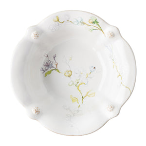 Berry & Thread Floral Sketch Jasmine Cereal/Ice Cream Bowl - By Juliska