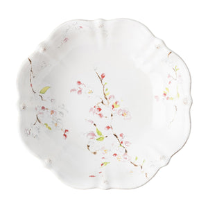 "Berry & Thread Floral Sketch Cherry Blossom 13"" Serving Bowl - By Juliska"