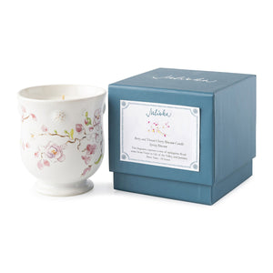 Berry & Thread Floral Sketch Cherry Blossom Candle - Spring Blossom - By Juliska