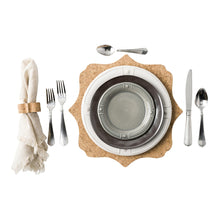 Load image into Gallery viewer, Emerson White/Pewter Dessert/Salad Plate - By Juliska
