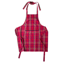 Load image into Gallery viewer, Red Tartan Apron - By Juliska