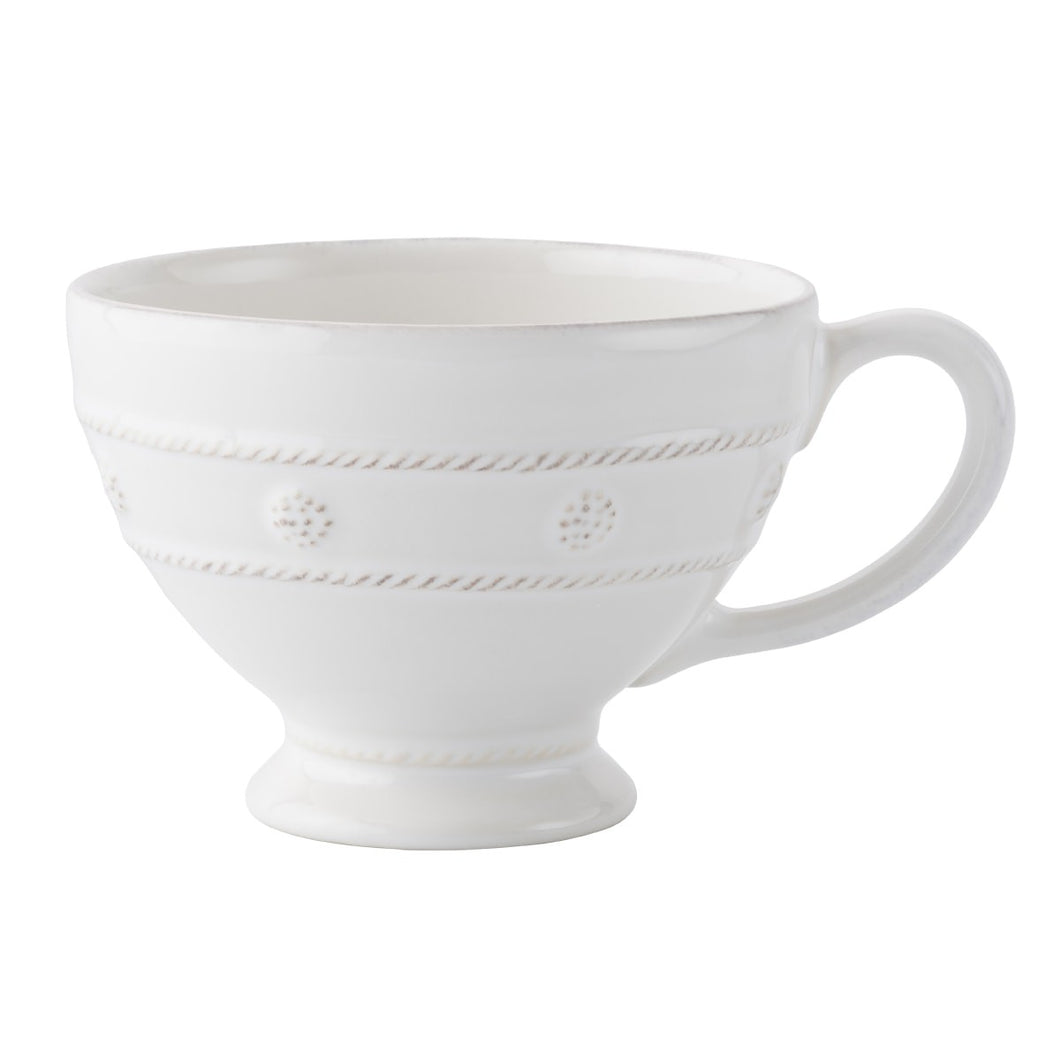 Berry & Thread Whitewash Breakfast Cup - By Juliska