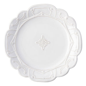 Jardins du Monde Whitewash Dinner Plate - By Juliska