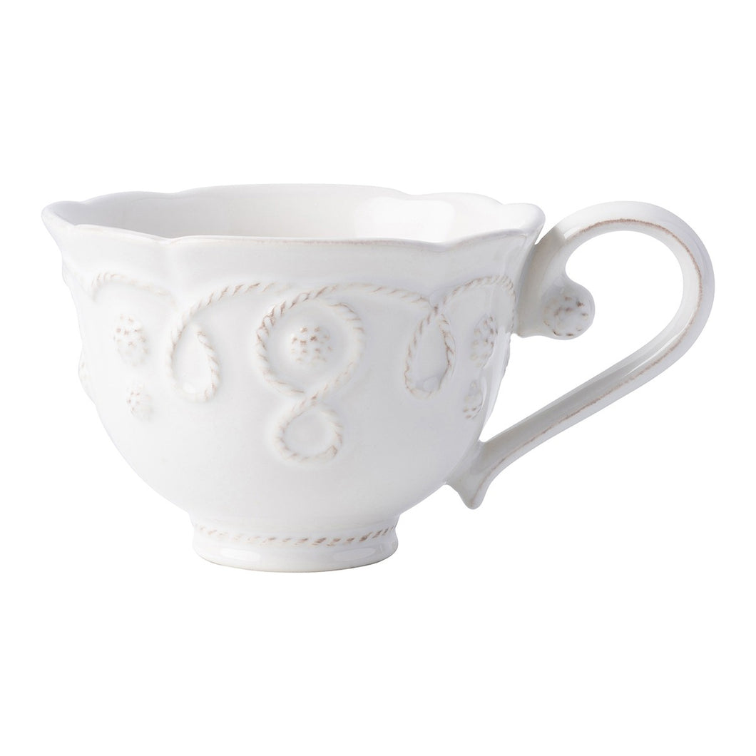 Jardins du Monde Whitewash Tea Cup - By Juliska