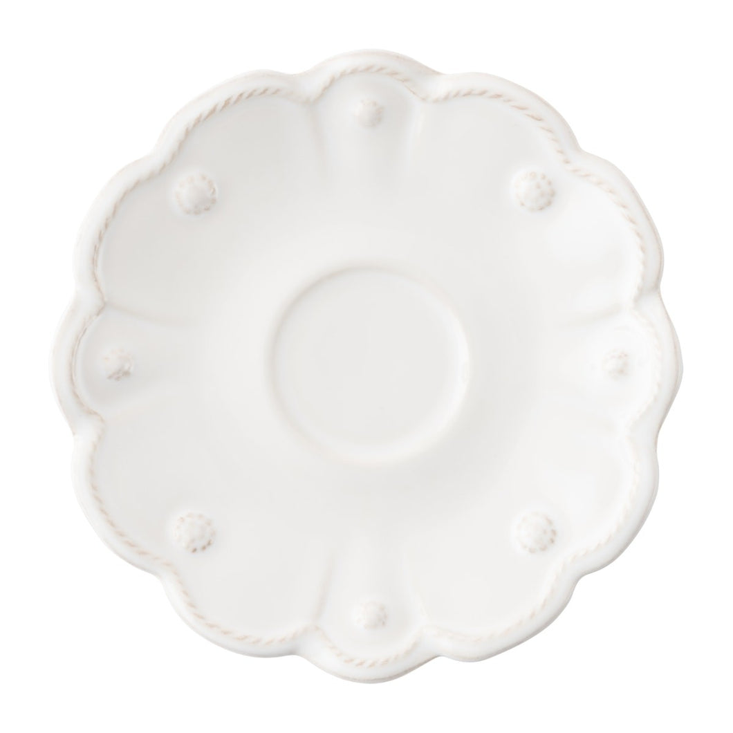 Jardins du Monde Whitewash Saucer - By Juliska