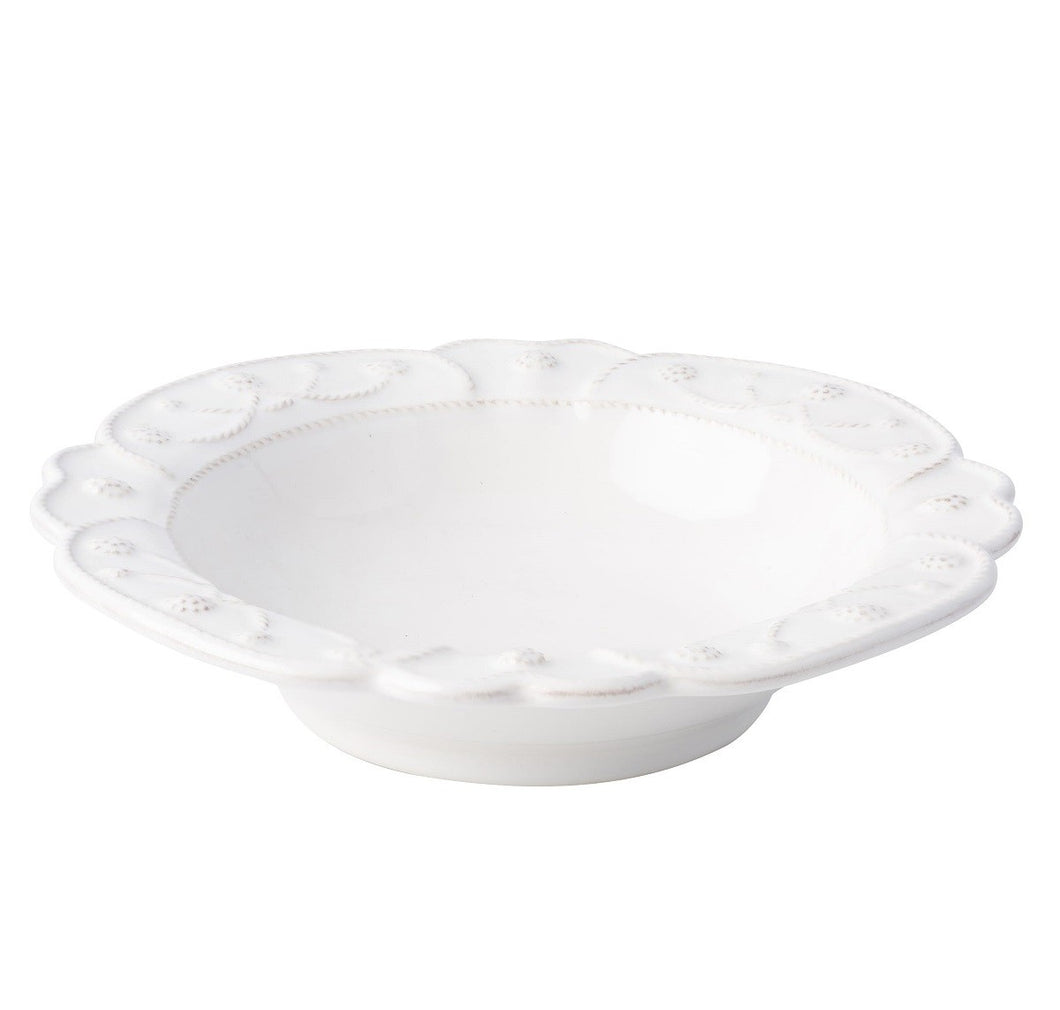 Jardins du Monde Whitewash Coupe Pasta/Soup Bowl - By Juliska