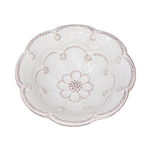 "Jardins du Monde Whitewash 5"" Blossom Bowl - By Juliska"