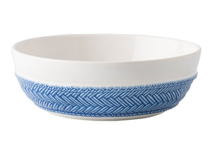 Le Panier White/Delft Coupe Pasta/Soup Bowl - By Juliska
