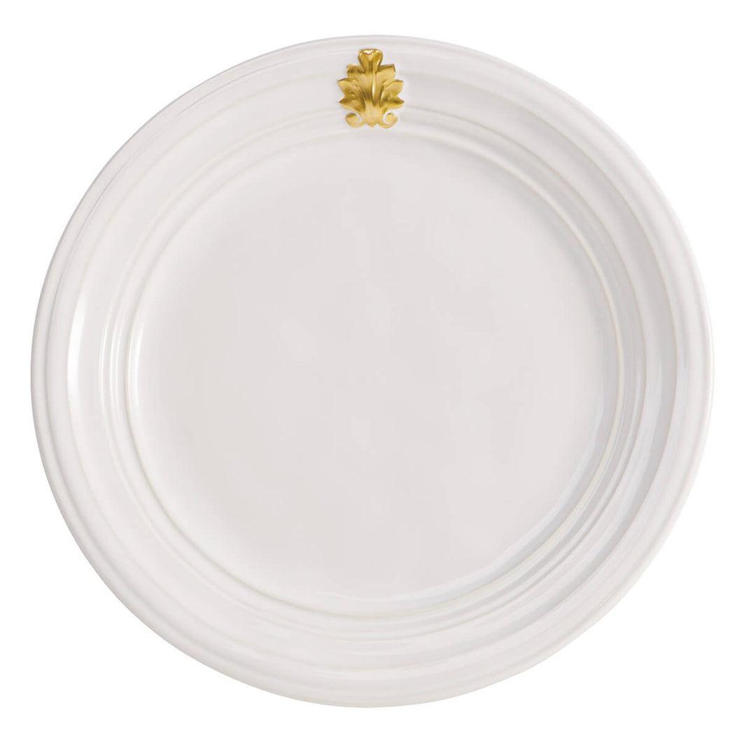 Acanthus Gold Cocktail Plate - By Juliska