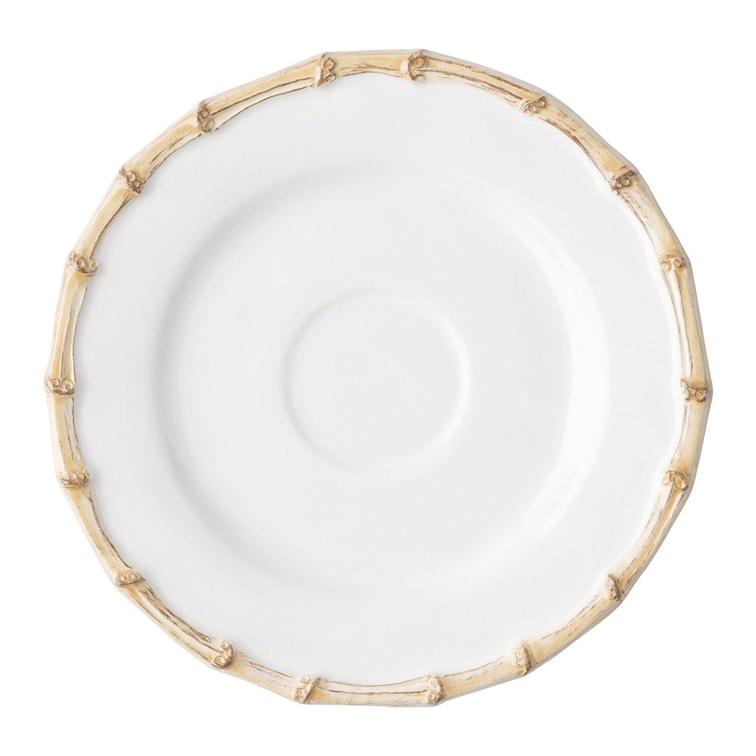 Classic Bamboo Natural Saucer - By Juliska