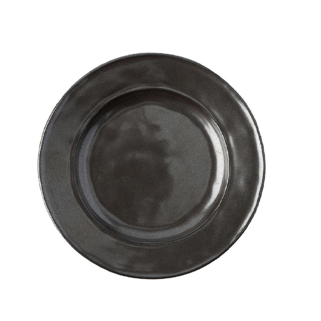 Pewter Stoneware Side/Cocktail Plate - By Juliska
