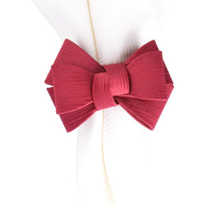 Tuxedo Ruby Napkin Ring - By Juliska
