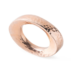 Puro Rose Gold Napkin Ring - By Juliska