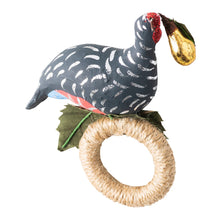 "Load image into Gallery viewer, Twelve Days of Christmas ""Partridge in a Pear Tree"" Napkin Ring Set/4 - By Juliska"