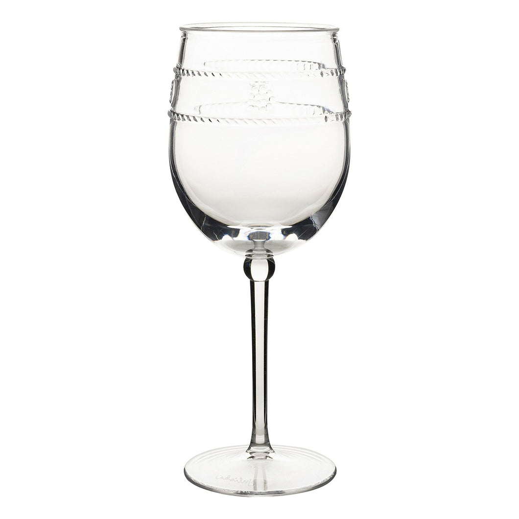 Isabella Acrylic Wine Glass - By Juliska