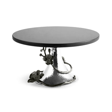 Black Orchid Cake Stand - By Michael Aram