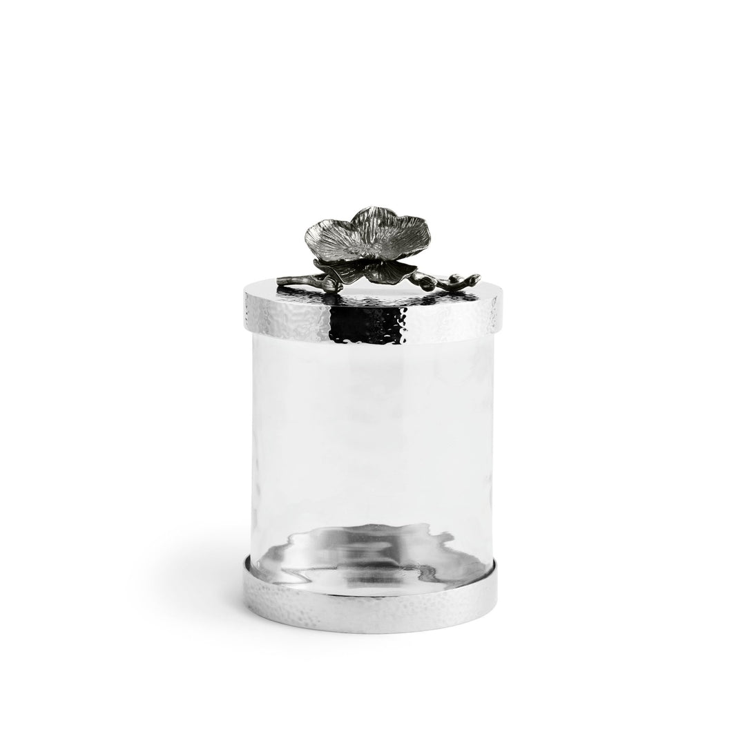 Black Orchid Canister Small - By Michael Aram