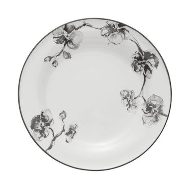 Black Orchid Dinner Plate - By Michael Aram