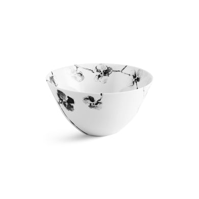 Black Orchid Serving Bowl - By Michael Aram