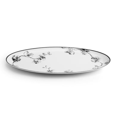 Black Orchid Serving Platter - By Michael Aram